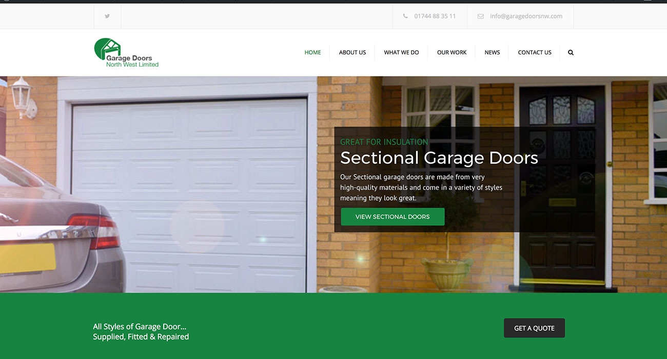 Garage Doors North West Ltd Easymediauk